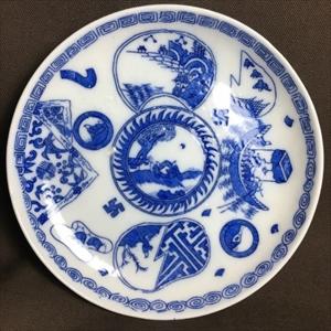印判皿・なます皿を通販で買うなら【雑貨とちや】 印判皿の画像